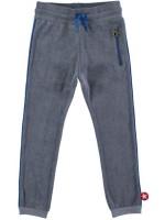 Grijsblauwe badstof broek van het merk Kik-Kid.