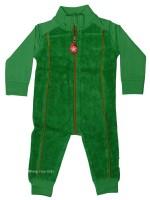 Kik-Kid jumpsuit terry/jersey green