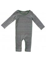 Kik-Kid jumpsuit stripe Blue/Brown