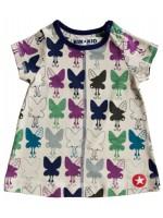 Babyjurk met vlinders van het merk Kik-Kid.