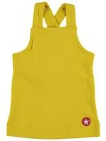 Kik-Kid dress singlet french knit yellow