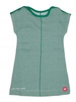 Kik-Kid jurk jersey print star green