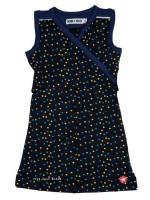Kik-Kid jurk singlet jersey dot d.blue