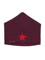 Kik-Kid muts jersey star dark red