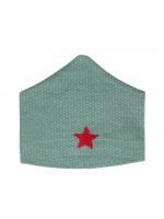 Kik-Kid muts jersey star green (