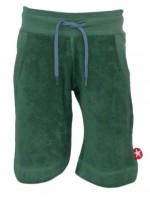 Groene badstof short van het merk Kik-Kid.