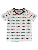 Wit t-shirt met sterren van het merk Kik-Kid.