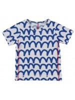 Kik-Kid t-shirt waves blue (baby)