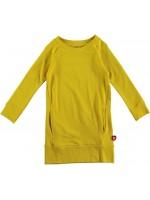 Kik-Kid dress tunic french knit yellow