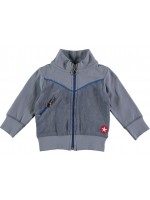 Kik-Kid jacket terry grey/blue