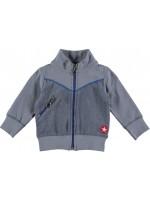 Kik-Kid jacket terry grey/blue (baby)