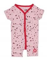 Kik-Kid jumpsuit zomer jersey spot pink