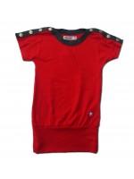 Kik-Kid jurk modal rood_Pimpyourkids