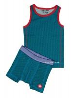 Kik-Kid ondergoed jersey print boy blue