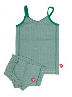 Kik-Kid ondergoed jersey print girl green