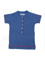 Kik-Kid t-shirt streep denim jersey