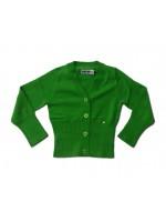 Kik-Kid vestje knitted groen_Pimpyourkids