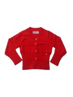 Kik-Kid vestje knitted rood_Pimpyourkids