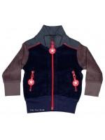 Kik-Kid jacket jersey d. Blue/Grey