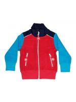 Kik-Kid jacket jersey red / blue baby