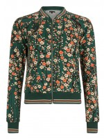 King Louie Biba Baseball Jacket Miki Everglade Green