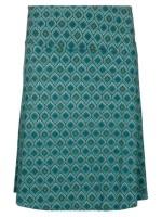 Groene rok met print van het merk King Louie.