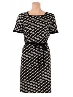 King Louie Lina dress Maya Black