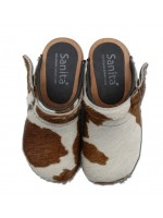Sanita instapklomp Safari Brown Cow_Pimpyourkids
