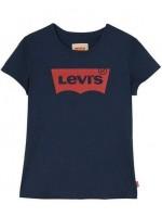 Levi's t-shirt Marine met rood logo (girl)