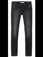Levi's jeans 710 black Super Skinny Fit (girl)
