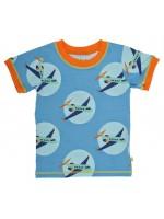 Mala t-shirt vliegtuigen