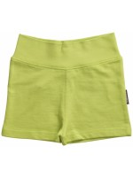 Hippe groen short van het Zweedse merk Maxomorra. De short is gemaakt van sweatstof.   De kinderkleding van Maxomorra is gemaakt van GOTS-gecertifceerd biologisch katoen.