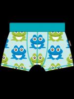 Maxomorra boxershort kikkers blauw