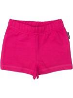 Roze short van heerlijk zachte sweatstof van het Zweedse merk Maxomorra.  De short is gemaakt van 100% biologisch katoen.