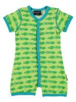 Maxomorra jumpsuit zomer cars green