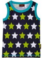 Maxomorra tanktop sterren blauw