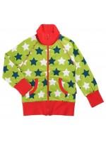 maxomorra vest sterren groen