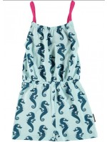 Maxomorra jumpsuit spaghettibandjes zeepaardje