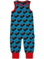 Maxomorra playsuit bever blauw
