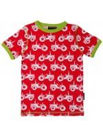 Maxomorra t-shirt tractor rood