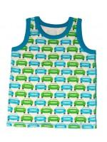 Stoer hemd met auto's van het prachtige Deense merk Melton. Het hemd is gemaakt van Oekotex 100 gecetificeerd katoen.