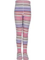 Melton maillot streep roze