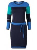 Chaos & Order jurk Miss Mare Navy