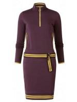 Chaos & Order jurk Miss Maud Wine