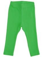 Prachtige effen groene legging van het Zweedse merk More Than a Fling.   De kinderkleding van More Than a Fling is gemaakt van 95% GOTS gecertificeerd katoen en 5% elastane.
