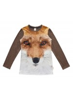 Wild Longsleeve Navy Red Fox