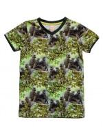 T-shirt met apen van het hippe Nederlandse merk Wild.  Het shirt is gemaakt van Oekotex gecertificeerd katoen.