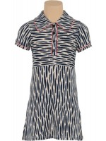 Petit Louie polo dress Zebra