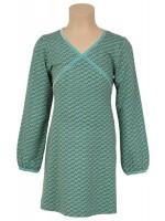 Petit Louie jurk Cup Dress Balance antique green