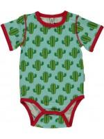 Maxomorra romper s/s cactus